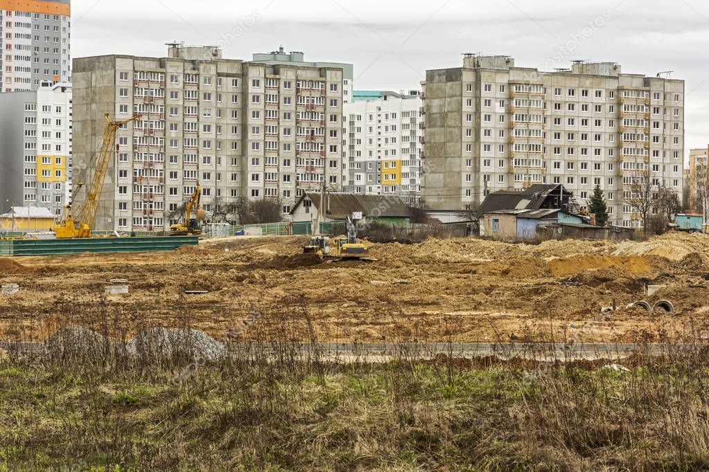 Demolition of the private sector and construction of a new micro