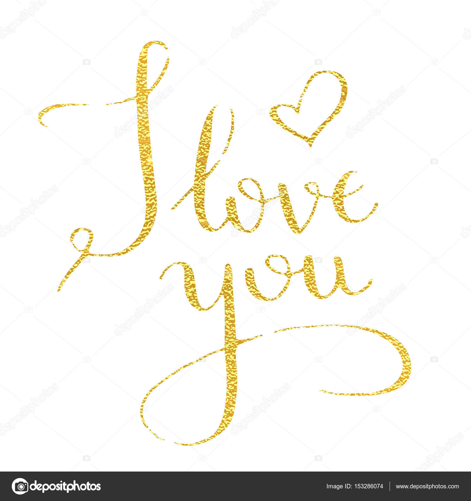 I love you hand drawn text calligraphy for valentine day greeting i love you hand drawn text calligraphy for valentine day greeting card stock vector kristyandbryce Images
