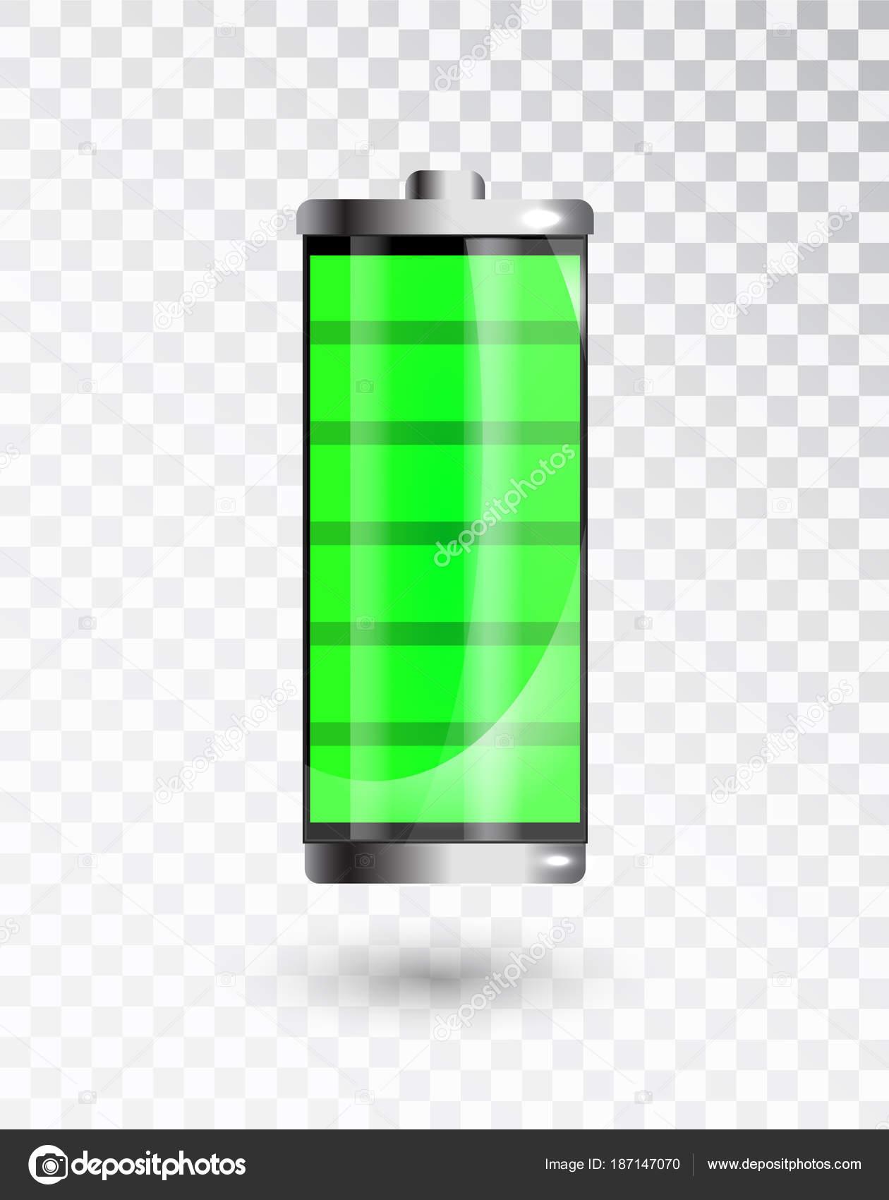 batterie charg e pleine charge de la batterie indicateur. Black Bedroom Furniture Sets. Home Design Ideas