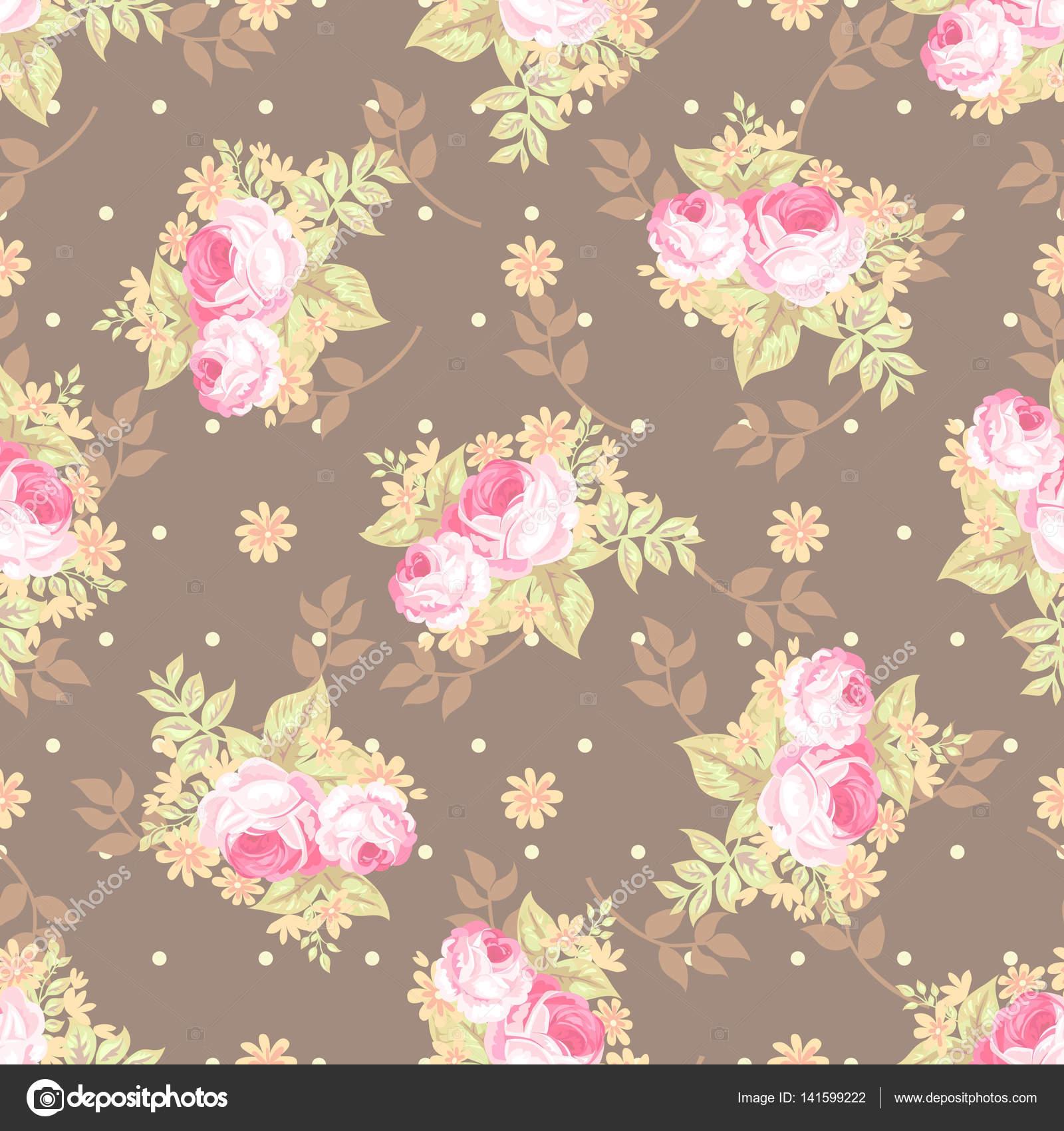 joli bouquet rural avec choux roses, transparente motif 3 — image