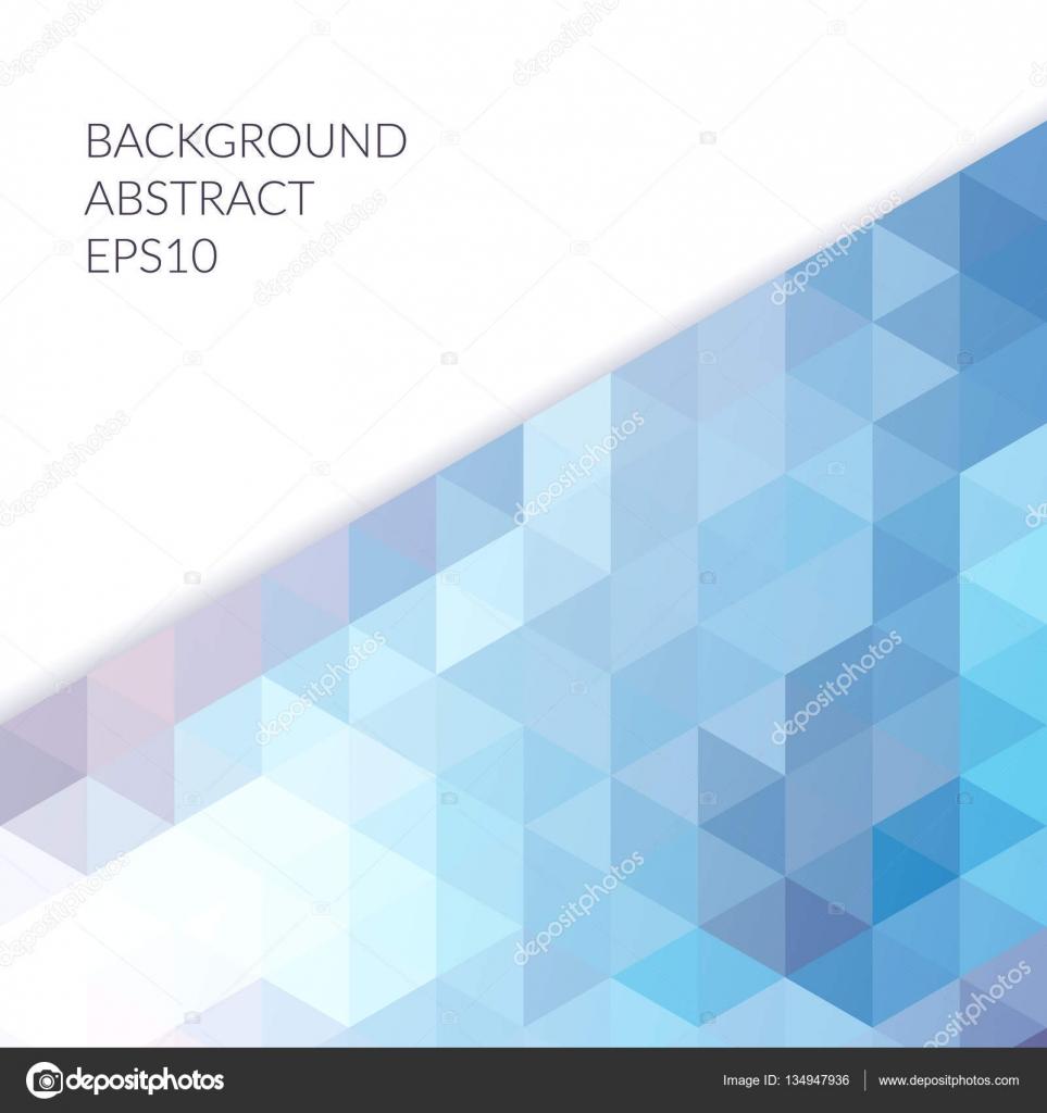 2759f2f629f78 Fondo abstracto con figuras geométricas sobre un fondo blanco. El patrón de  triángulos. Tonos de azul y púrpura - imágenes  figuras geometricas  abstractas ...