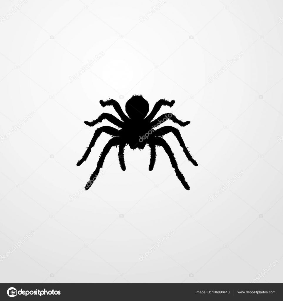 蜘蛛アイコン イラスト分離ベクトル記号 ストックベクター