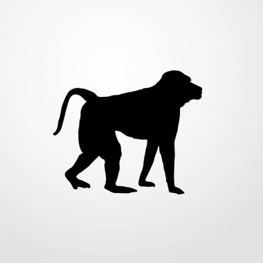 monkey icon illustration isolated vector sign symbol