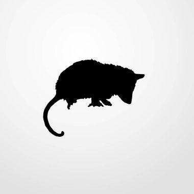 opossum icon illustration isolated vector sign symbol