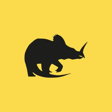 dinosaur icon illustration isolated vector sign symbol