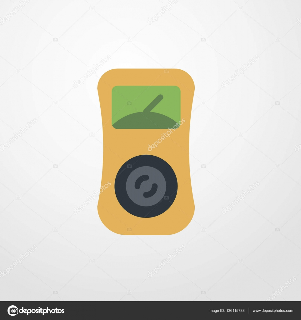 voltmeter icon illustration isolated vector sign symbol — Stock ...