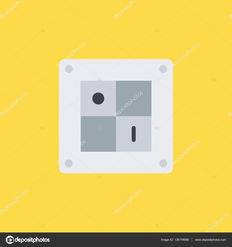 Fantastisch Symbol Für Einen Schalter Galerie - Elektrische ...