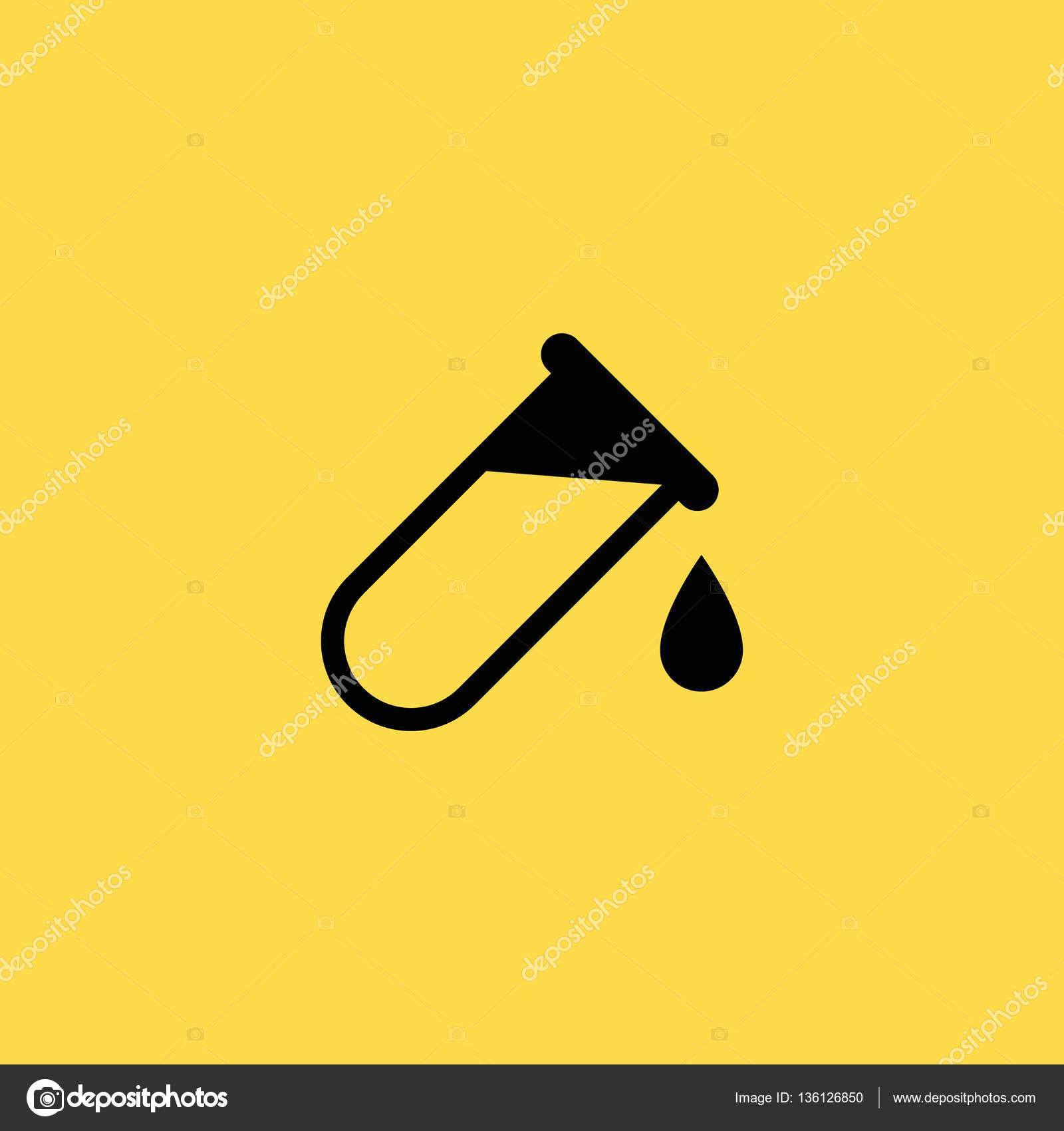 Blood test tube icon illustration isolated vector sign symbol blood test tube icon illustration isolated vector sign symbol stock vector buycottarizona Images