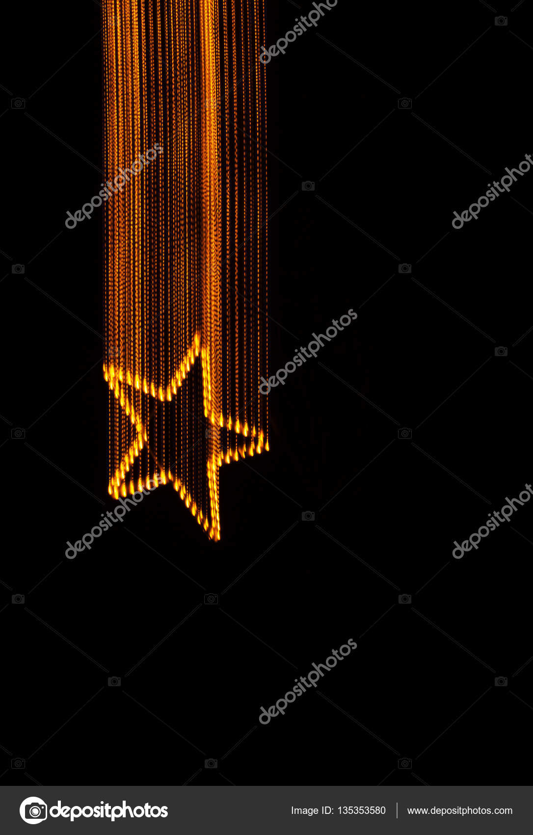 Etoile Filante Light Painting Photographie Juerpa C 135353580