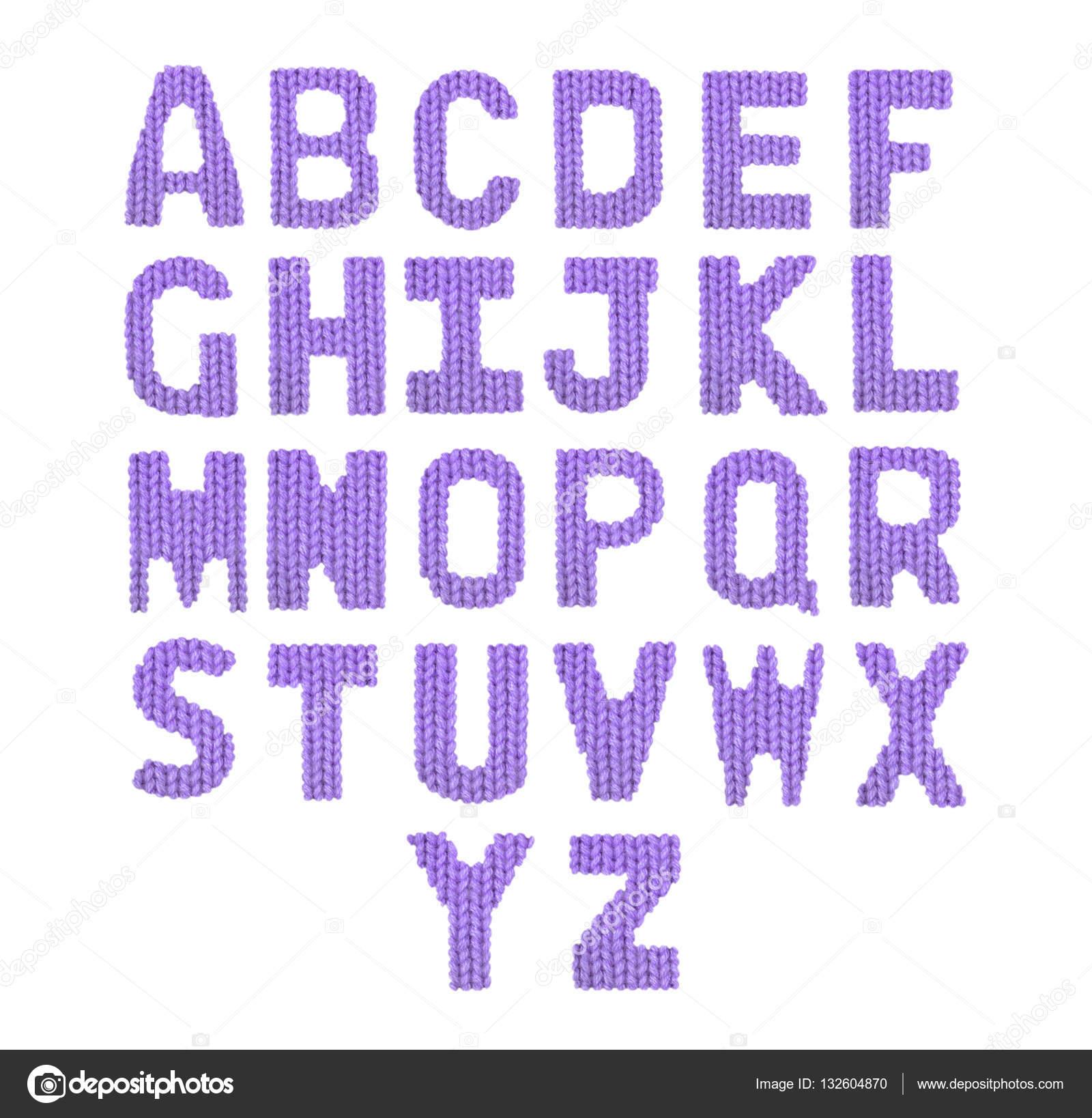 Alfabeto de letras. Color morado — Foto de stock © lbrfzhjpf.gmail ...
