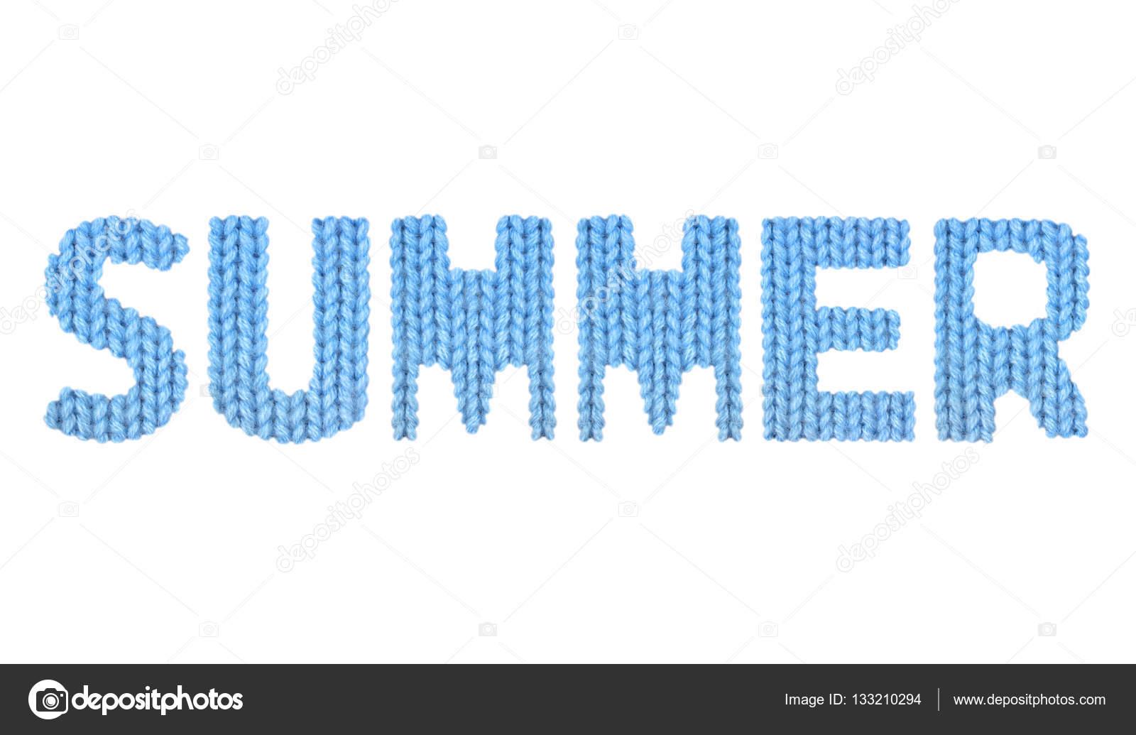 Summer. Color blue — Stock Photo © lbrfzhjpf.gmail.com #133210294
