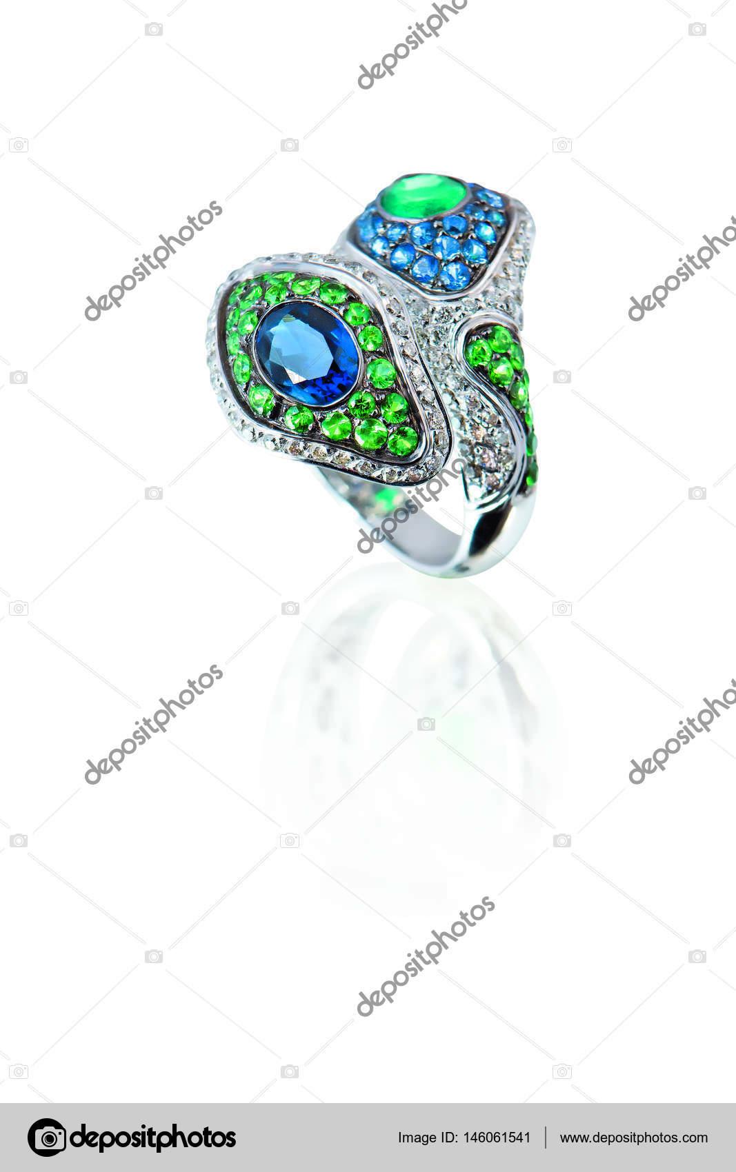 beautiful jewelry ring — Stock Photo © EVursta.bk.ru #146061541