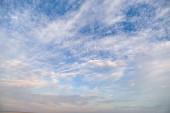 krásná obloha pozadí, příroda vyhlídku