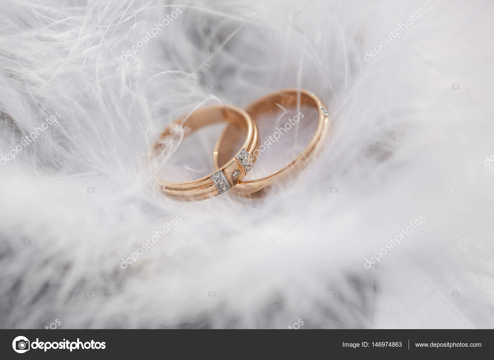 image angelic photo two light and edit card background stock golden feather soft gentle now wedding sparkling rings