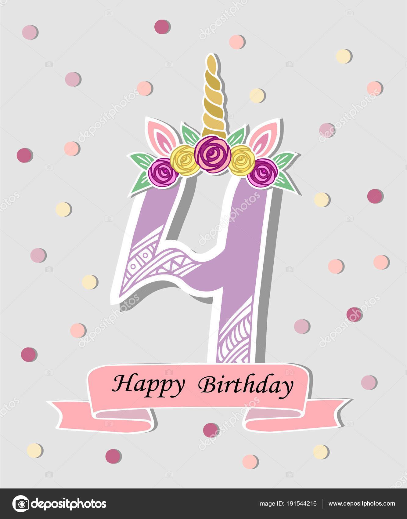 Vector Invitaciones Cumpleaños Online Vector Ilustración
