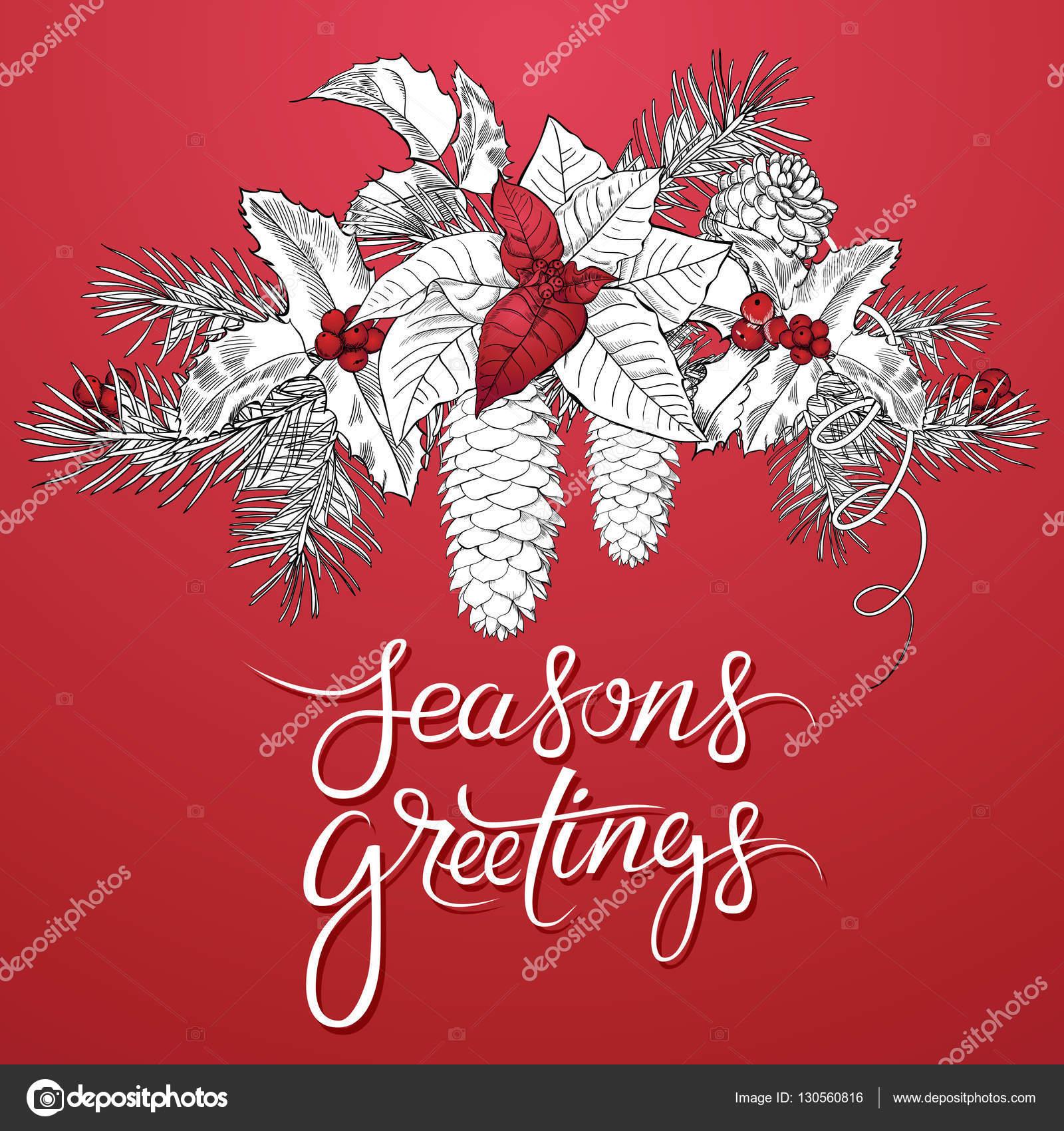 Seasons greetings background stock vector 4airar 130560816 seasons greetings background stock vector m4hsunfo