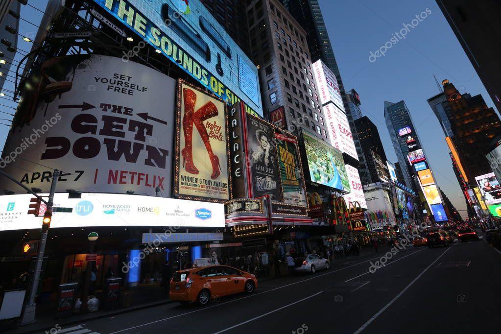 Billboards in New York