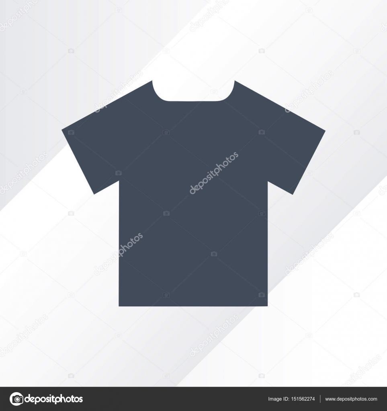 Vektor v-neck T-shirt Modell. Herren schwarz Kurzarm T-shirt Vorlage ...