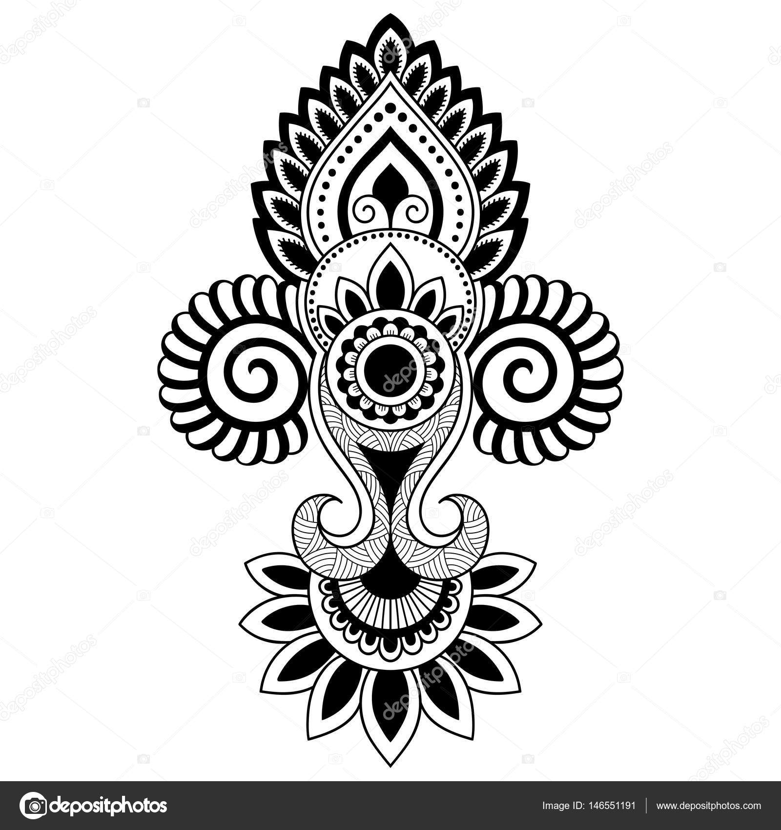 tatouage motif indien galerie tatouage. Black Bedroom Furniture Sets. Home Design Ideas