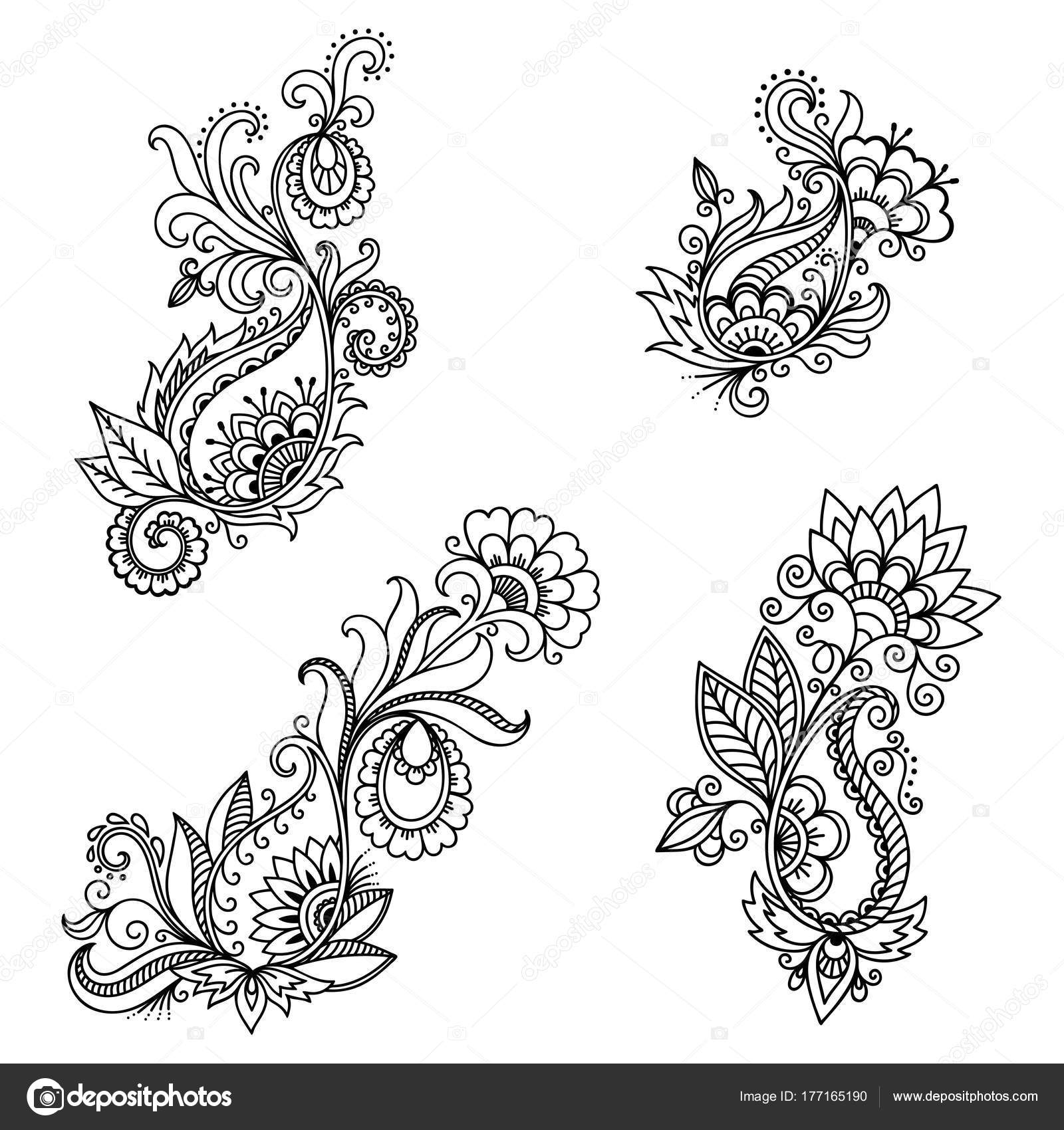 Henna tattoo flower template indian style ethnic floral paisley henna tattoo flower template indian style ethnic floral paisley lotus stock vector izmirmasajfo Image collections
