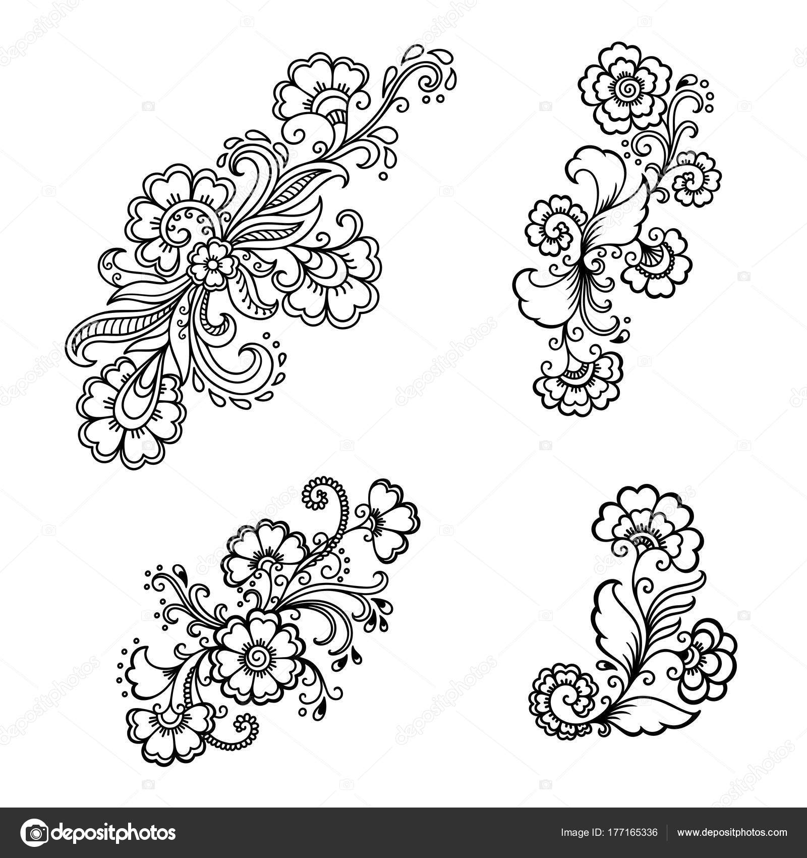 Henna tattoo flower template indian style ethnic floral paisley henna tattoo flower template indian style ethnic floral paisley lotus stock vector mightylinksfo