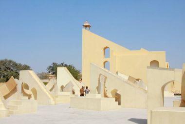 The Jantar Mantar monument in Jaipur