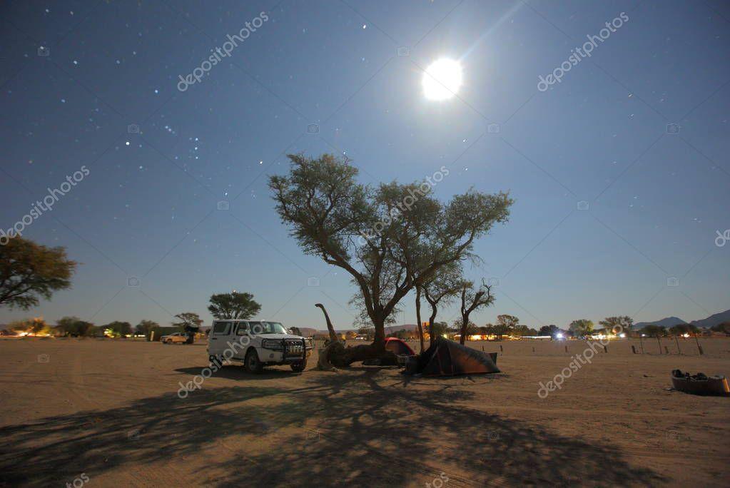 Village of Himba tribe (Kunene region)
