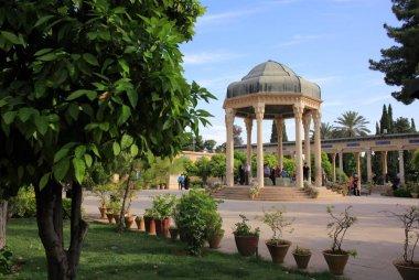 Saadi (the great poet) mausoleum in Shiraz, Iran
