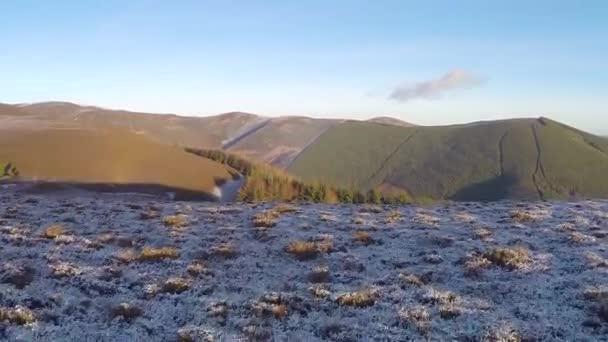 Aerial footage, The Tweed Valley, Scotland