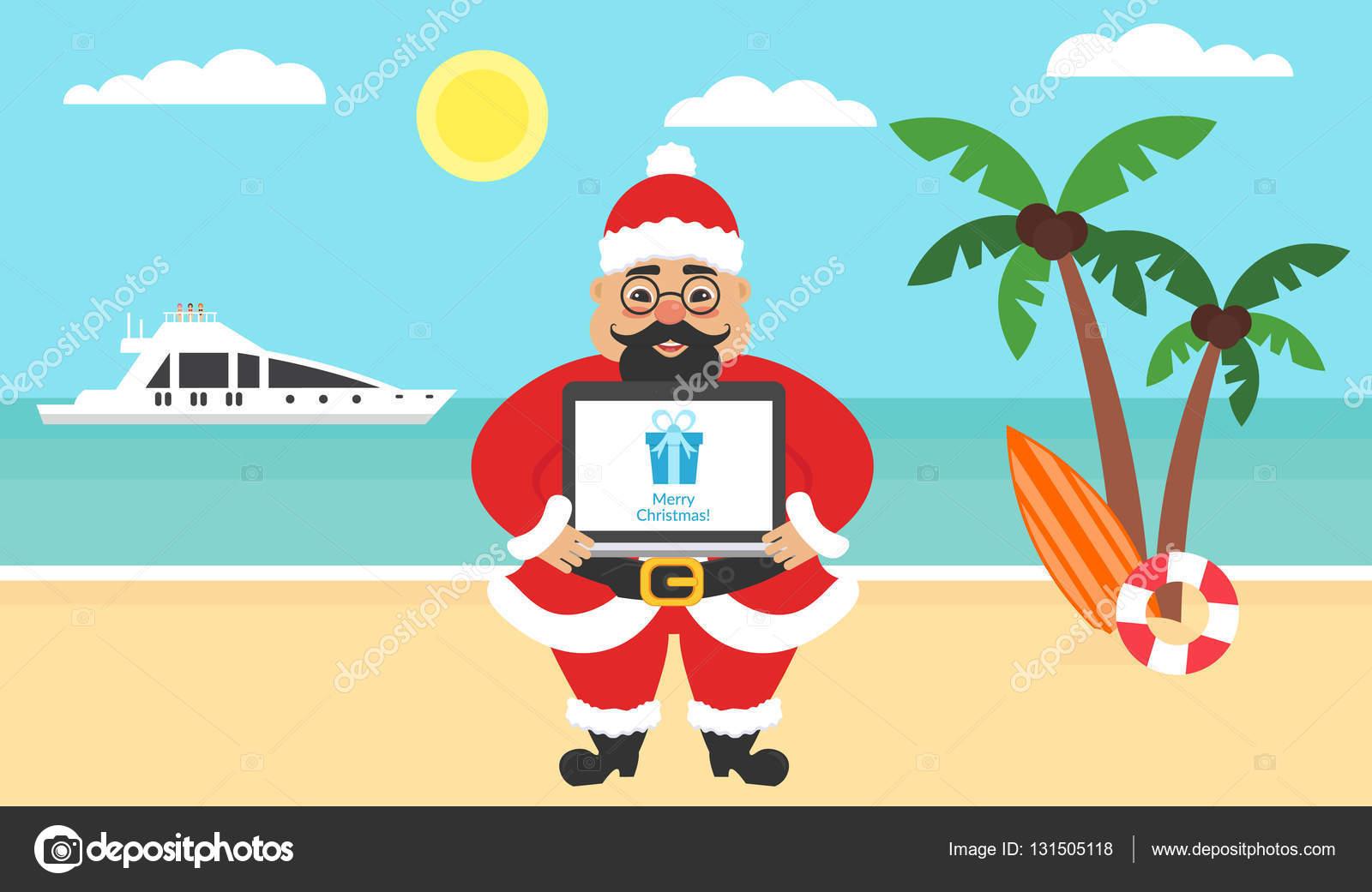 god jul gratulationer Sommaren bakgrund   sunny beach. Havet, yacht, Palm och Söt  god jul gratulationer