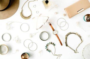 fashion accessories arrangement