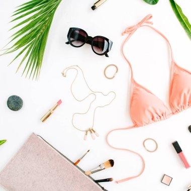 feminine accessories arrangement