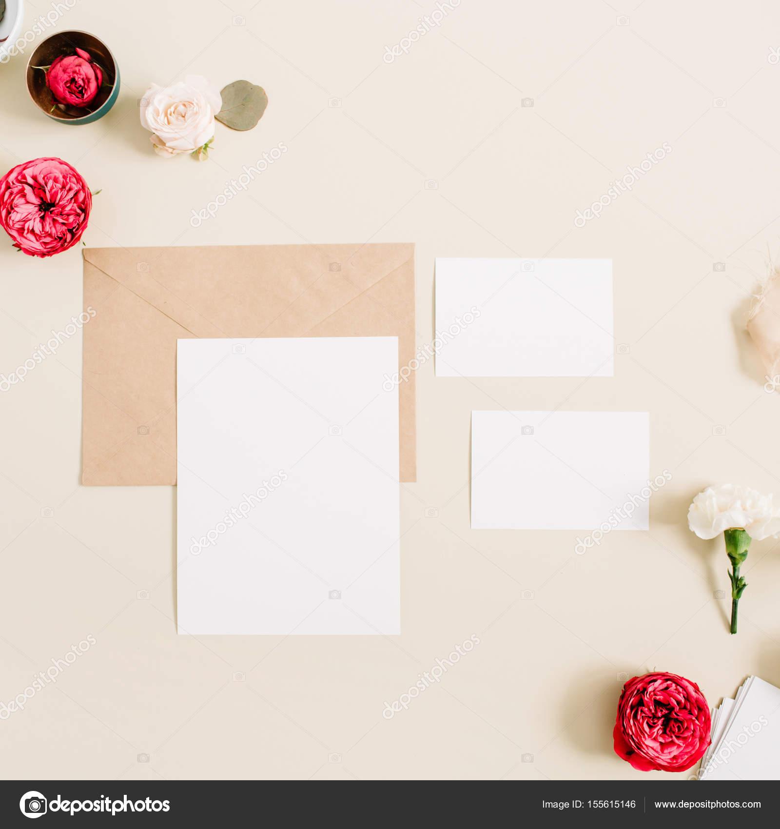 Wedding invitation cards — Stock Photo © maximleshkovich #155615146