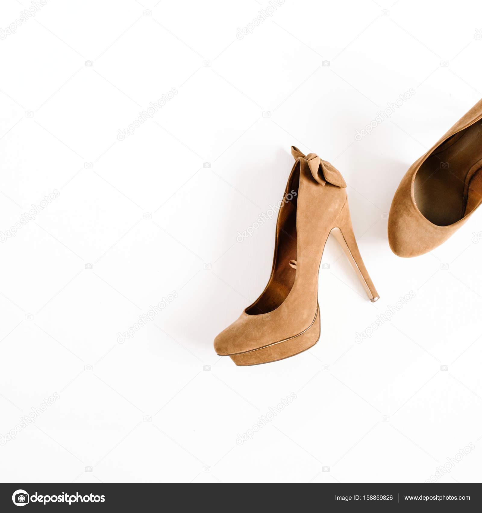 mujer de de tacón alto marrón Zapatos gRW1T4Zqwx