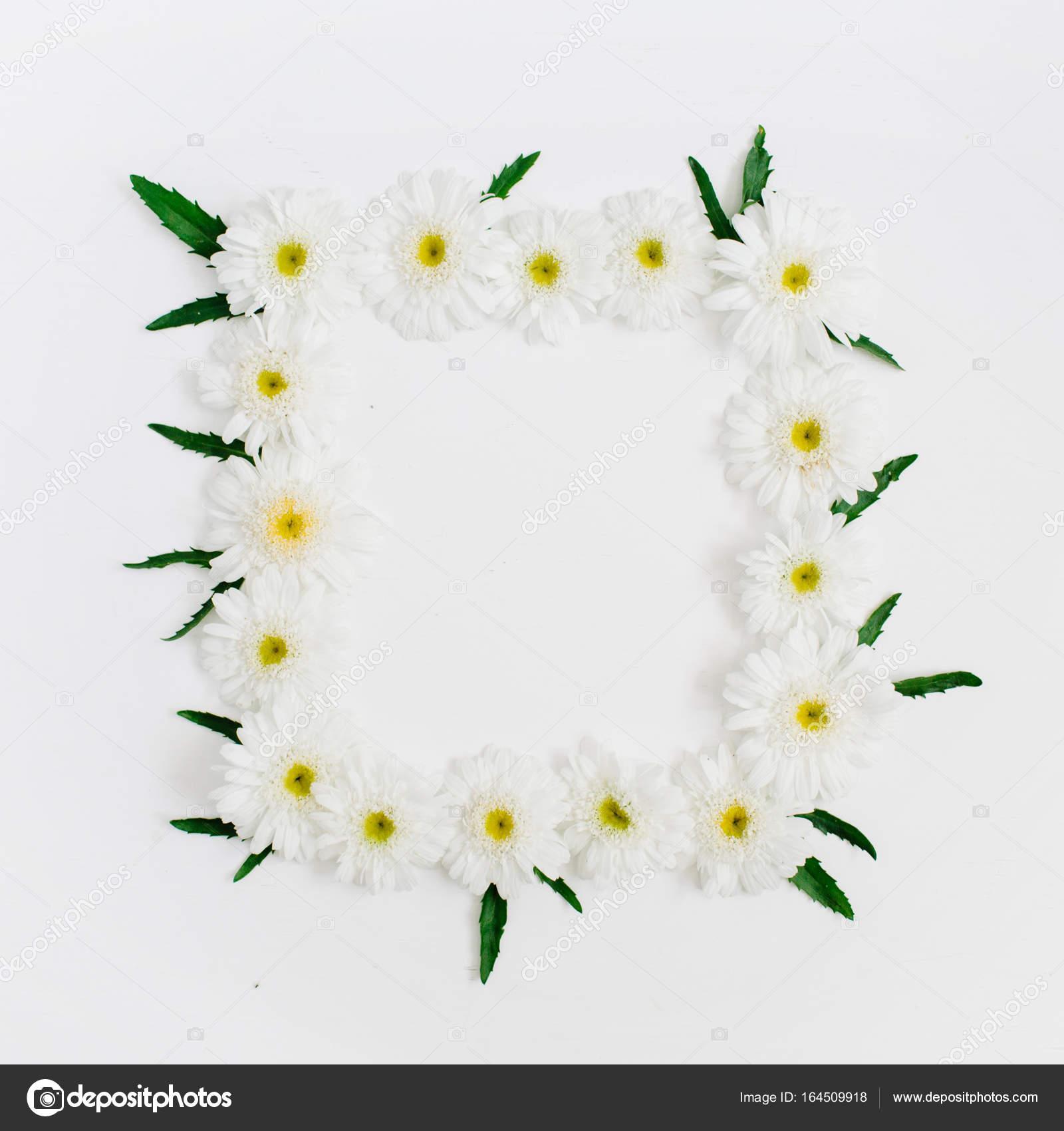 marco floral con espacio para texto — Foto de stock ...