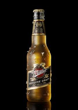Miller Genuine Draft beer
