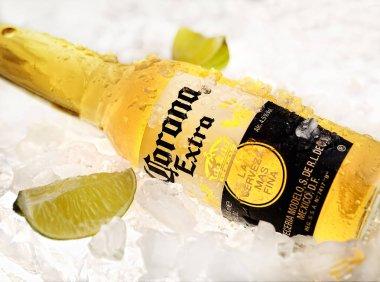 Corona Extra beer bottle