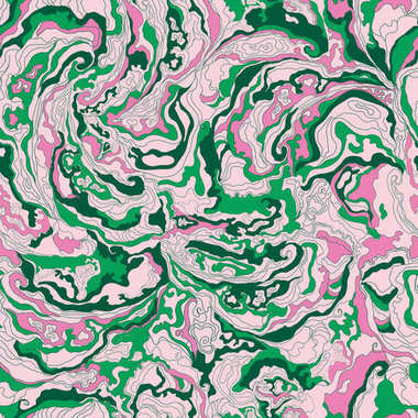pattern with the image texture of smoke green and pink shades
