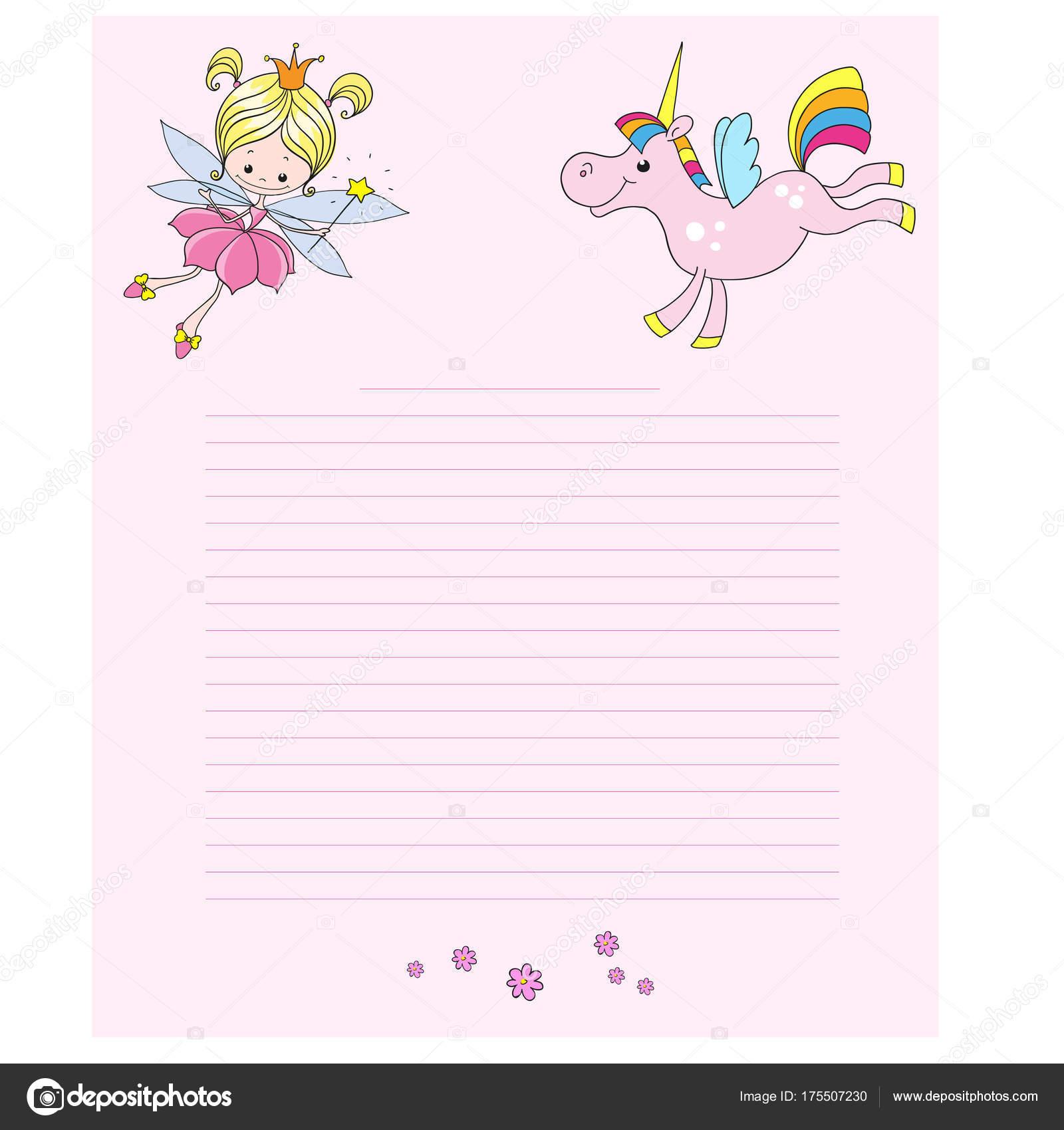 Fairy unicorn cartoon characters cute characters pink background fairy unicorn cartoon characters cute characters pink background greeting card stock vector kristyandbryce Gallery