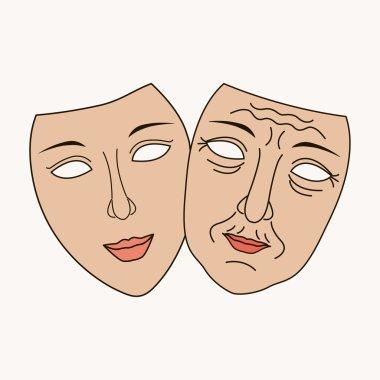 Vector Facial plastic surgery