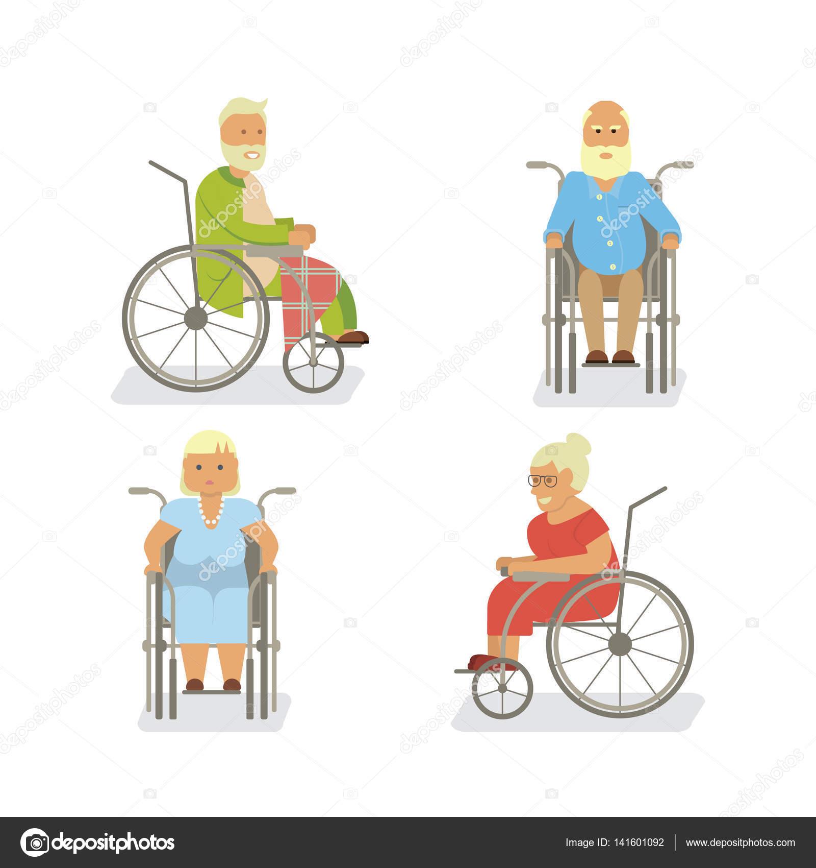 Chair exercise for seniors - Retired Elderly Seniors Royalty Free Stock Illustrations