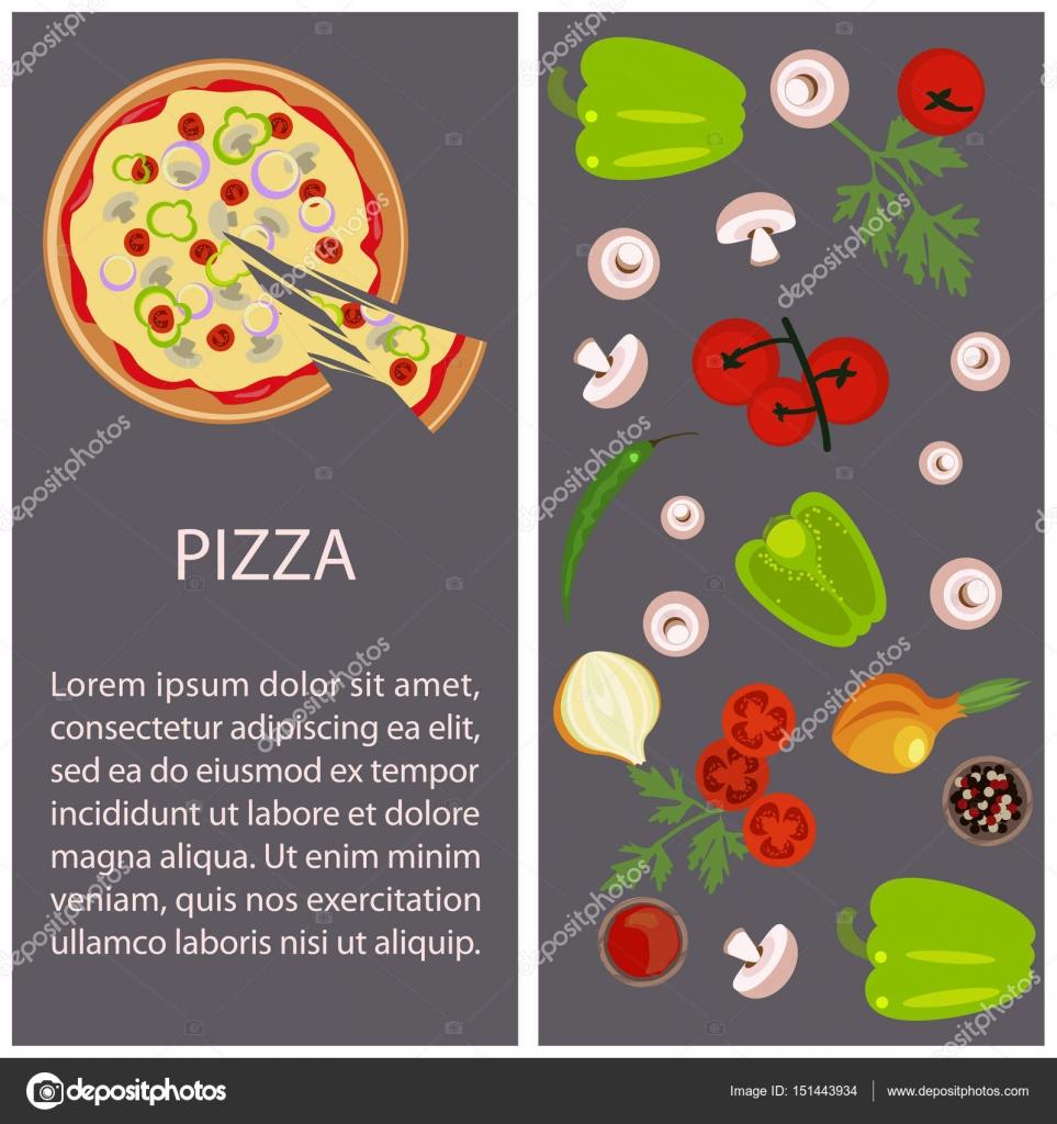 Pizza-Speisekarte — Stockvektor © tatianastulbo.gmail.com #151443934