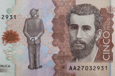 Details on the five thousand Colombian bill