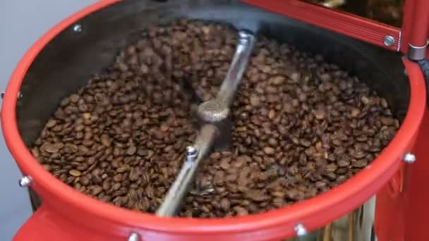 Coffee Roaster Cooling Down Freshly Roasted Coffee Beans