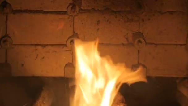 Alternative Kraftstoffe. Paletten werden in eine industrielle Kessel verbrannt.