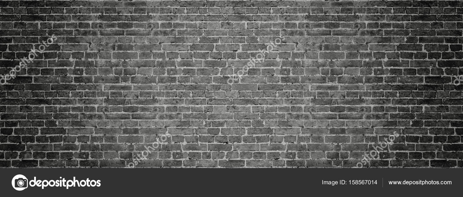 Black brick wall panoramic background stock photo interpas black brick wall panorama for background old brickwork vintage wallpaper photo by interpas voltagebd Choice Image