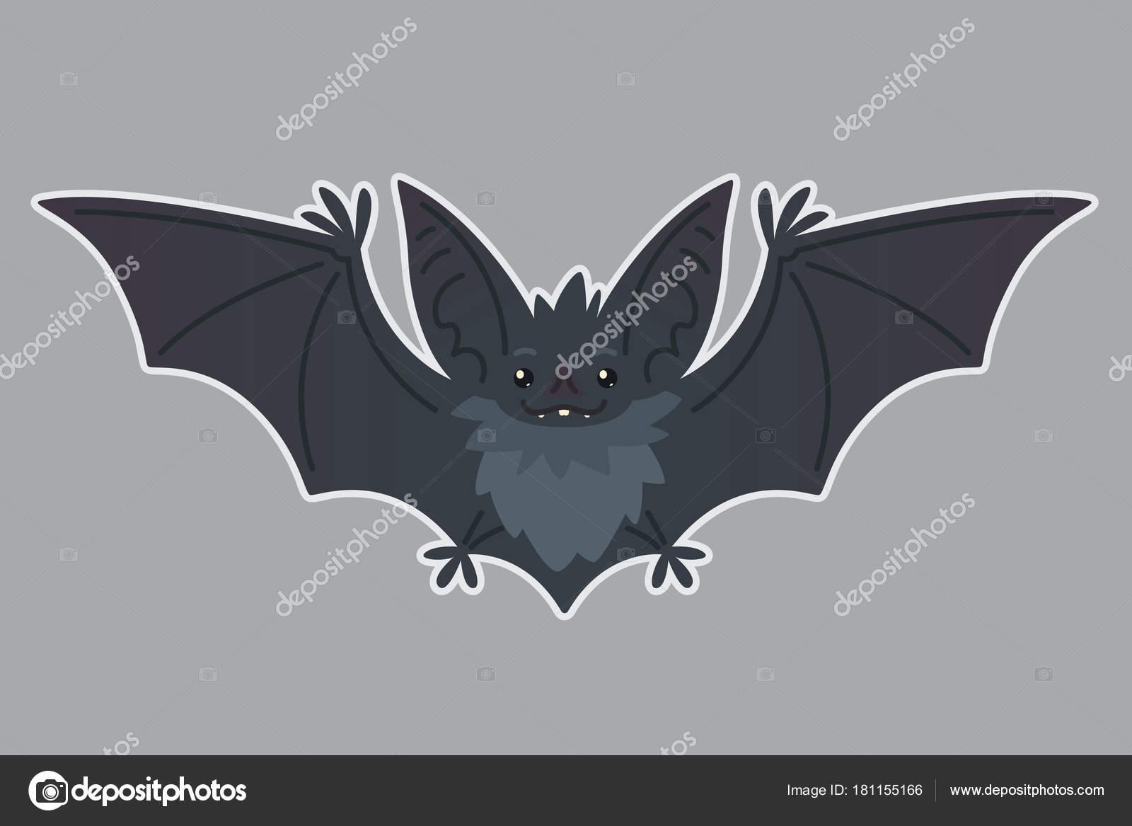 Volo Del Blocco Illustrazione Vettoriale Di Pipistrello Eared