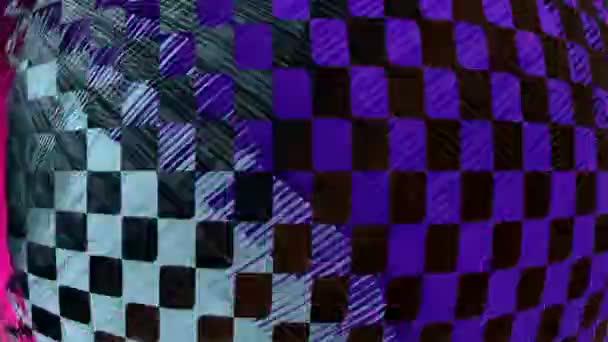abstraktní barevné kostkované pozadí 1