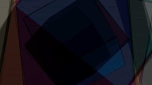 rotující barevné kostky