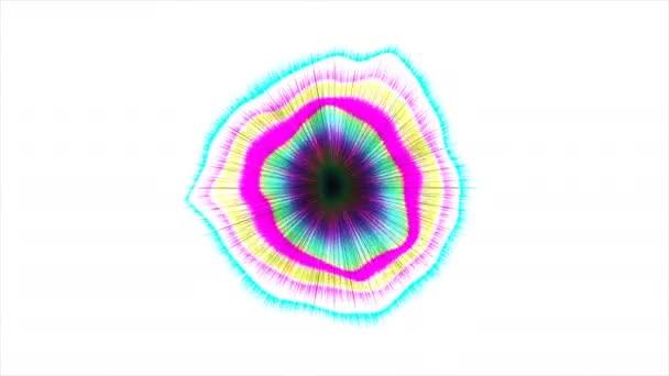 Abstraktní barevné vzor s bílé pozadí 13
